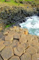 Giant's Causeway with hexagonal-shaped columns, Northern Ireland_Inroads Ireland Tours