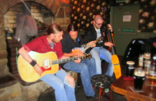 Traditional Irish music session, Go North Tour, Ireland with Ireland's top tour company, Inroads Ireland tours