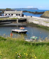 Tranquil harbor, north of Ireland, Go North Tour