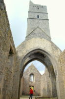 Explore hidden sites, friary, County Mayo Ireland