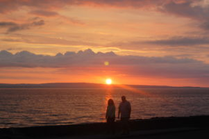 Gorgeous beaches, and some the best sunsets in the world, while in tour with Inroads Ireland