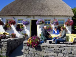 Charming cafe Inis Mor Aran Islands