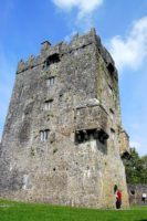 O'Flaherty clan Irish castle, Galway in the west of Ireland